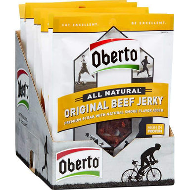 Oberto All Natural Jerky Oberto Original 1.5 Oz-12 Count