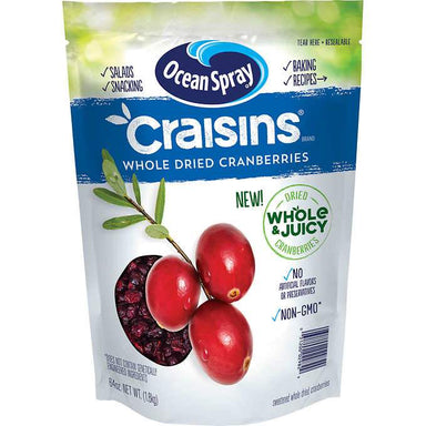 Ocean Spray Craisins, Dried Cranberries Ocean Spray Whole & Juicy 64 Ounce