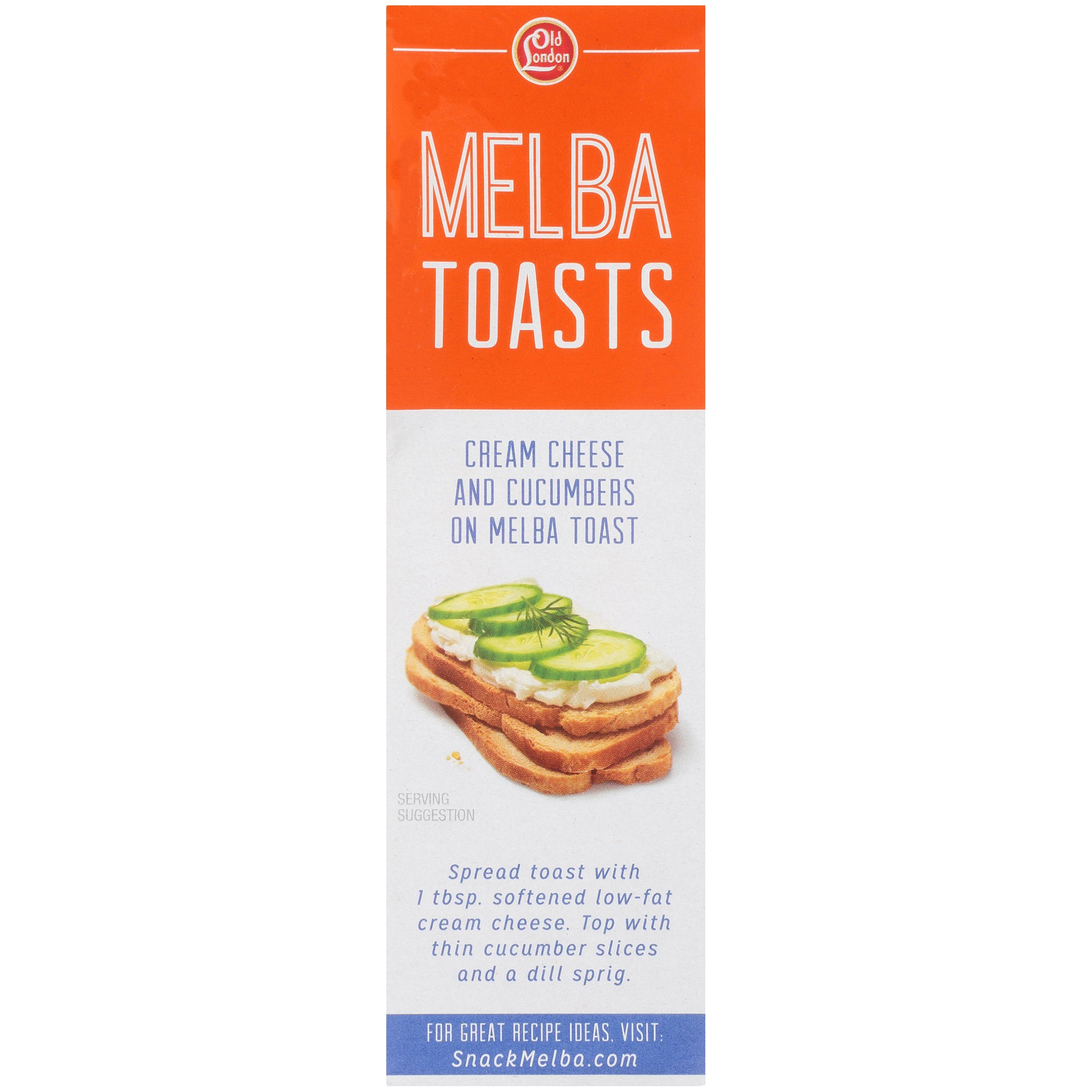 Old London Melba Toast Old London Foods