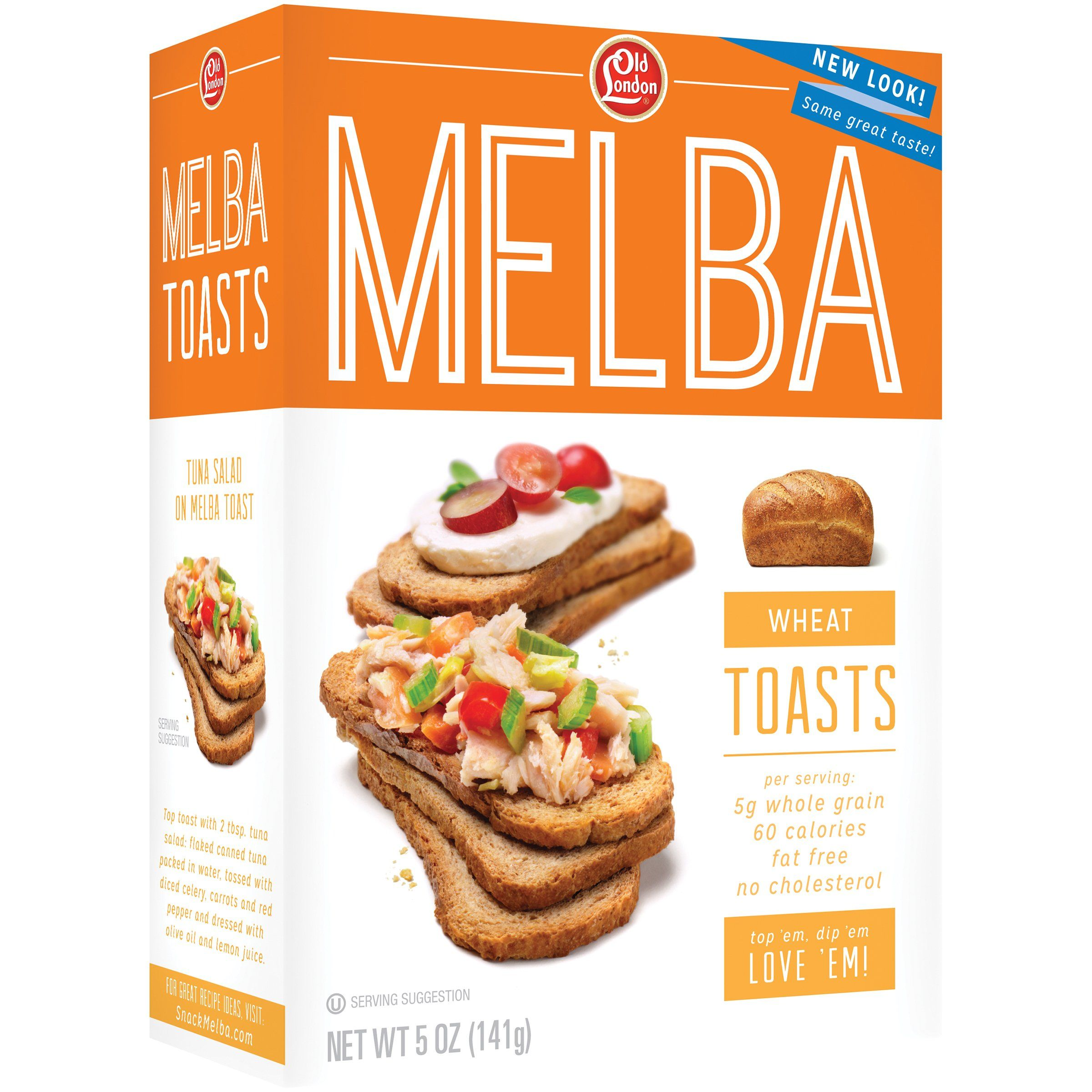 Old London Melba Toast Old London Foods Wheat 5 Ounce