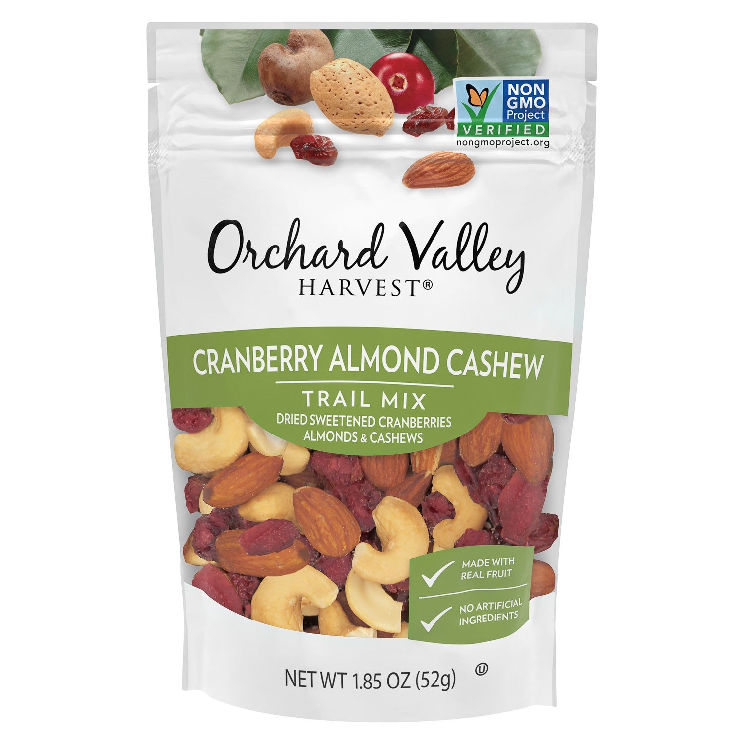 Orchard Valley Harvest Mix Orchard Valley Harvest Cranberry Almonf Cachew 1.85 Ounce