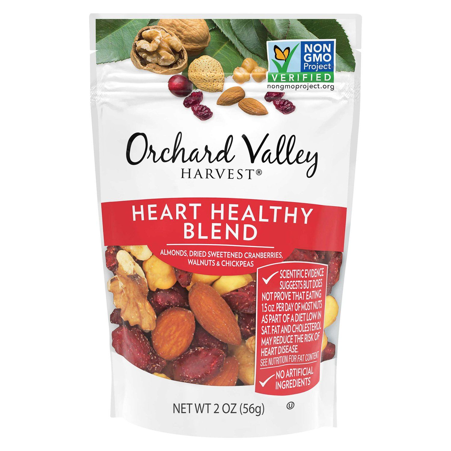 Orchard Valley Harvest Mix Orchard Valley Harvest Heart Healthy 2 Ounce