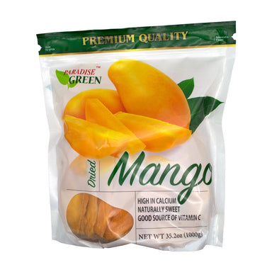 Paradise Green Premium Dried Mango, 35.2 Ounce Paradise Green
