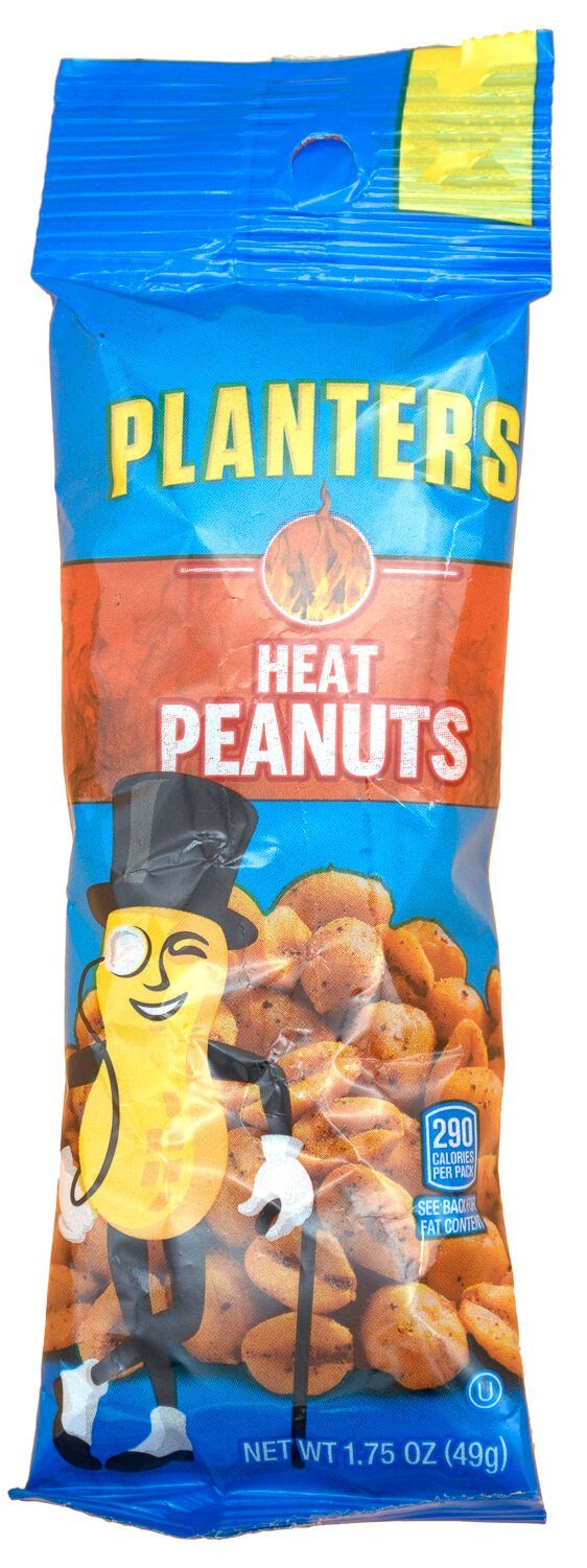 Planters Peanuts Planters Heat 1.75 Ounce