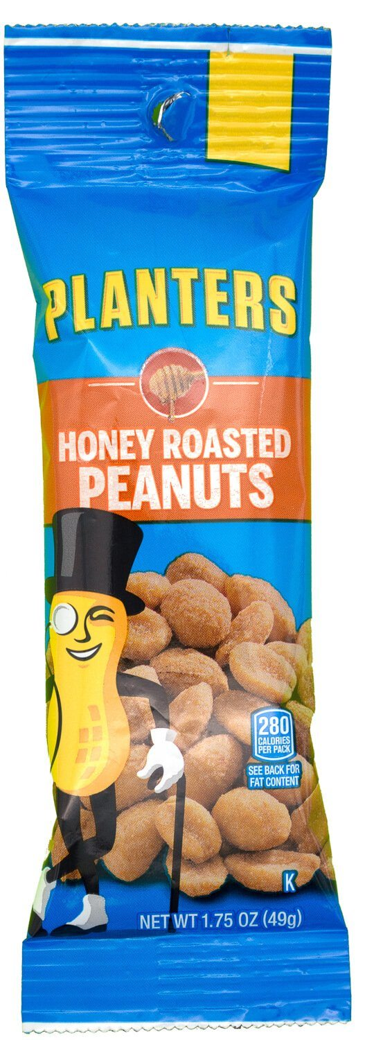 Planters Peanuts Planters Honey Roasted 1 Ounce