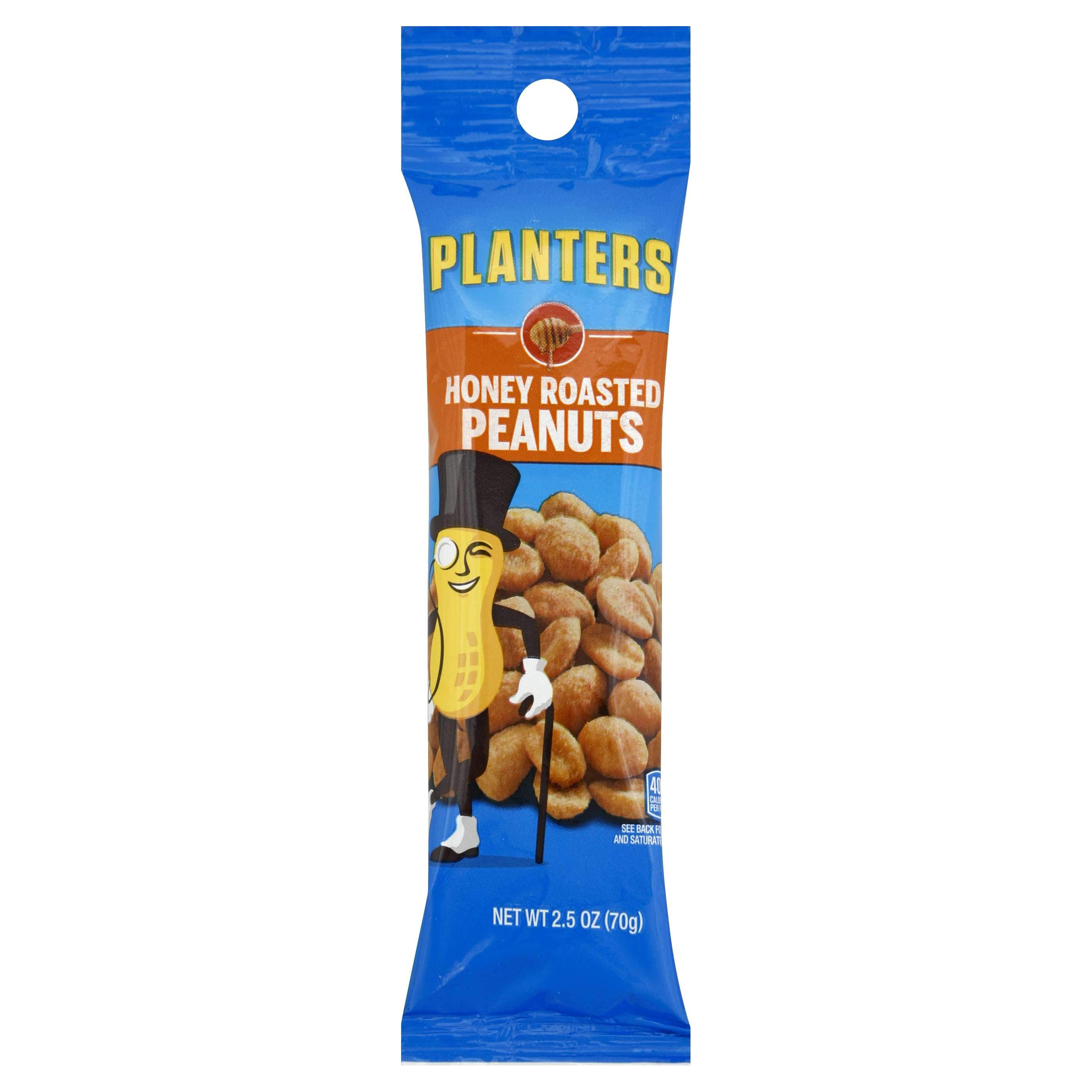 Planters Peanuts Planters Honey Roasted 2.5 Ounce