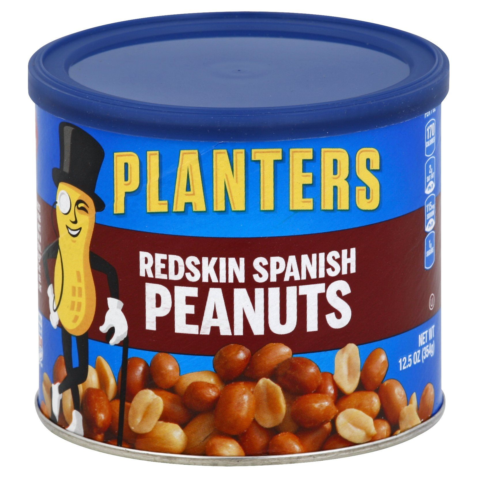 Planters Peanuts Planters Redskin Spanish 12.5 Ounce