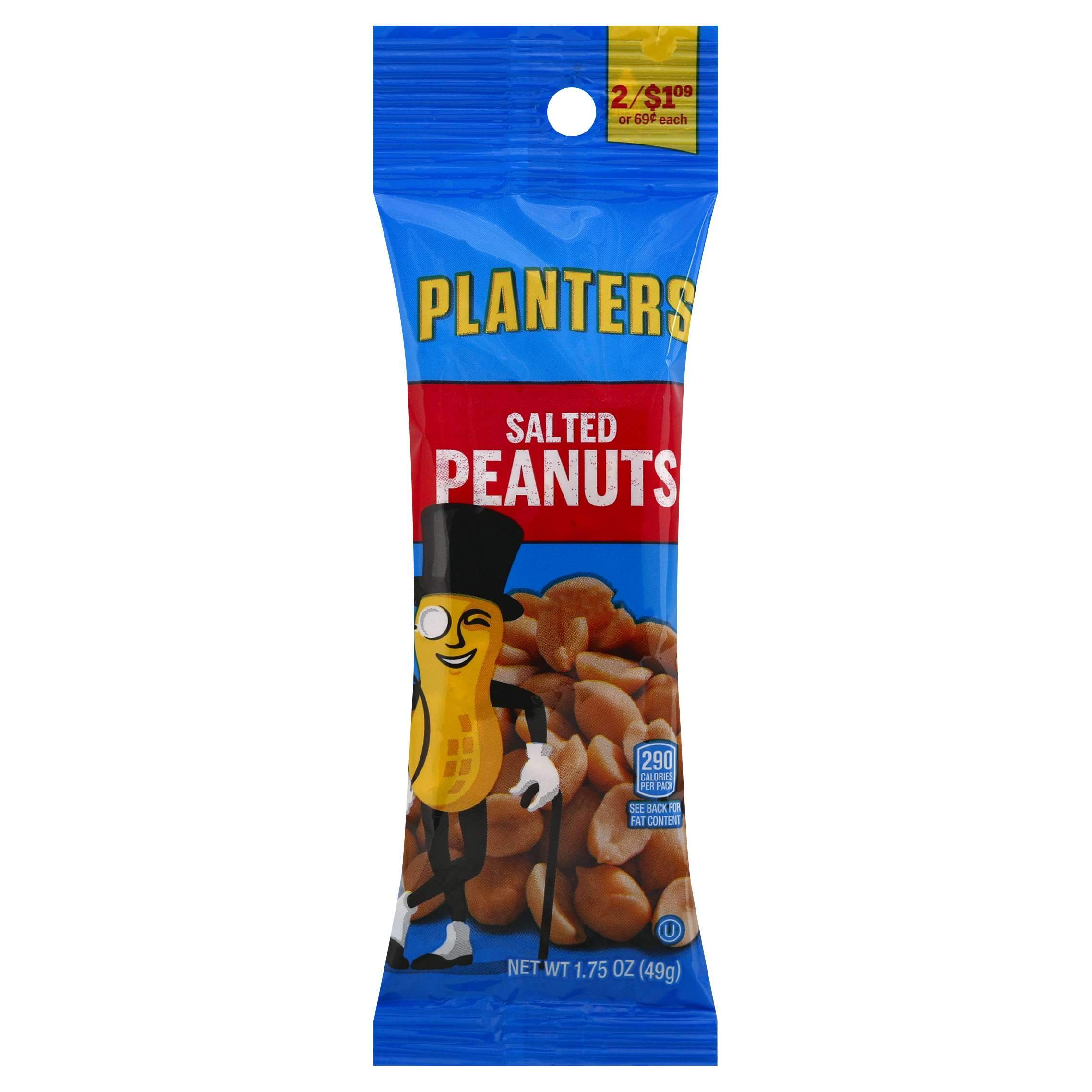 Planters Peanuts Planters Salted 1.75 Ounce