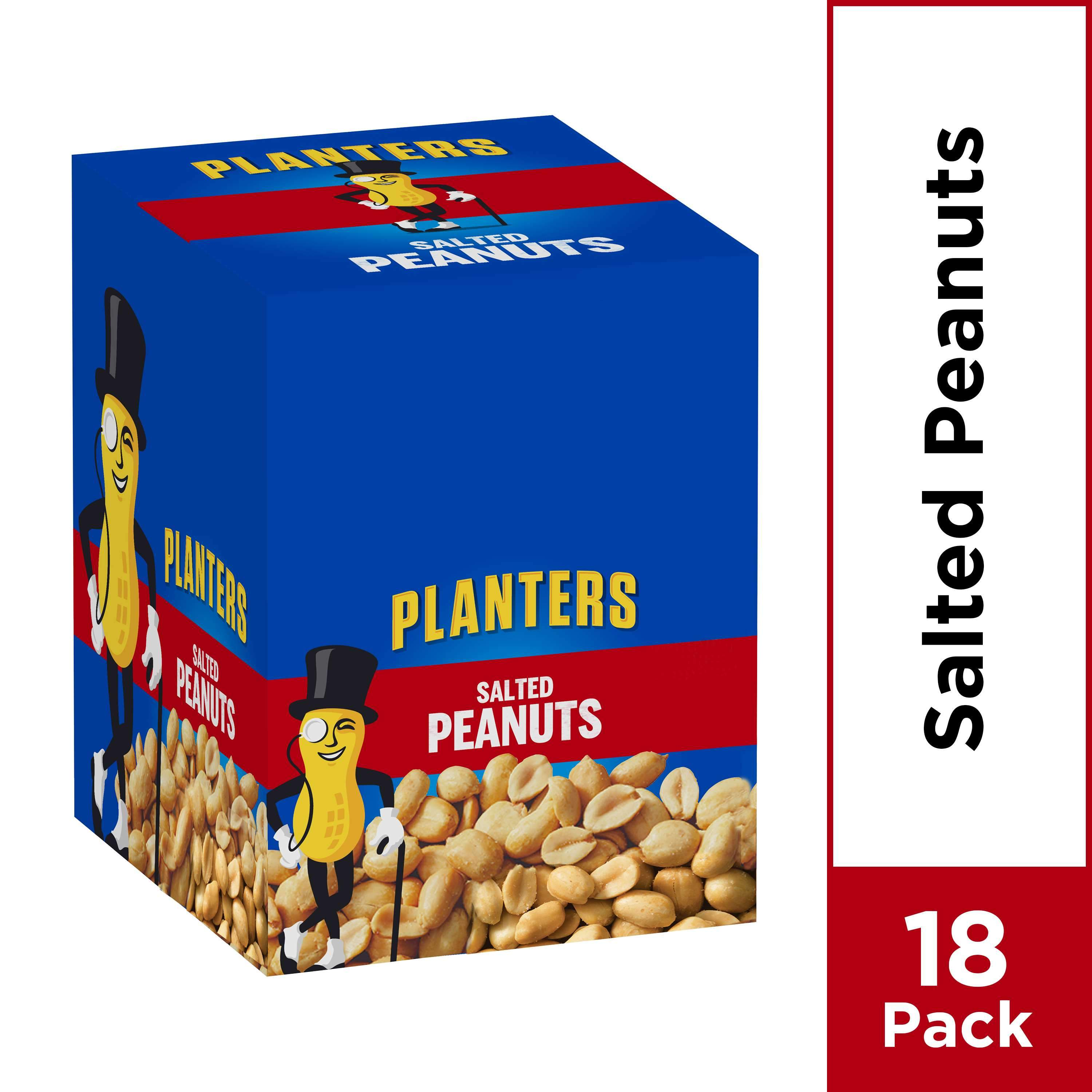 Planters Peanuts Planters Salted 1.75 Oz-18 Count
