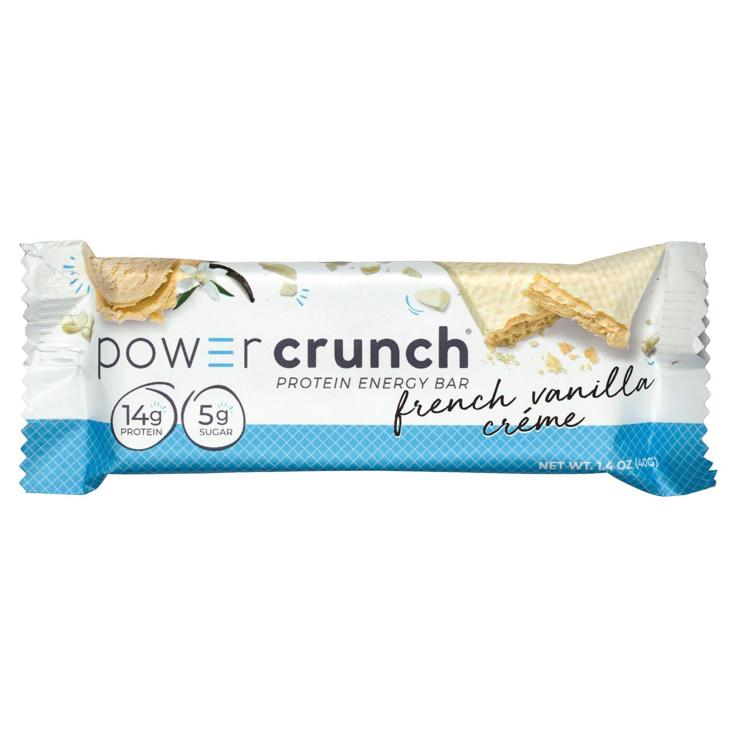 Power Crunch Protein Bars Power Crunch French Vanilla Crème 1.4 Ounce