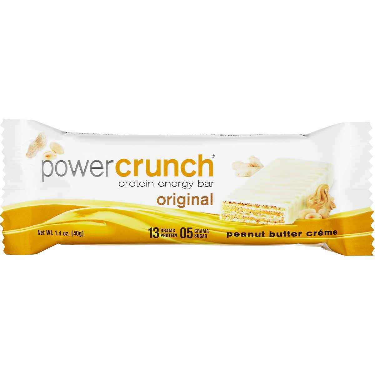 Power Crunch Protein Bars Power Crunch Peanut Butter Creme 1.4 Ounce