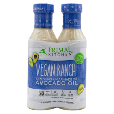Primal Kitchen Dressing & Marinade Primal Kitchen Vegan Ranch 12 Fl Oz-2 Count