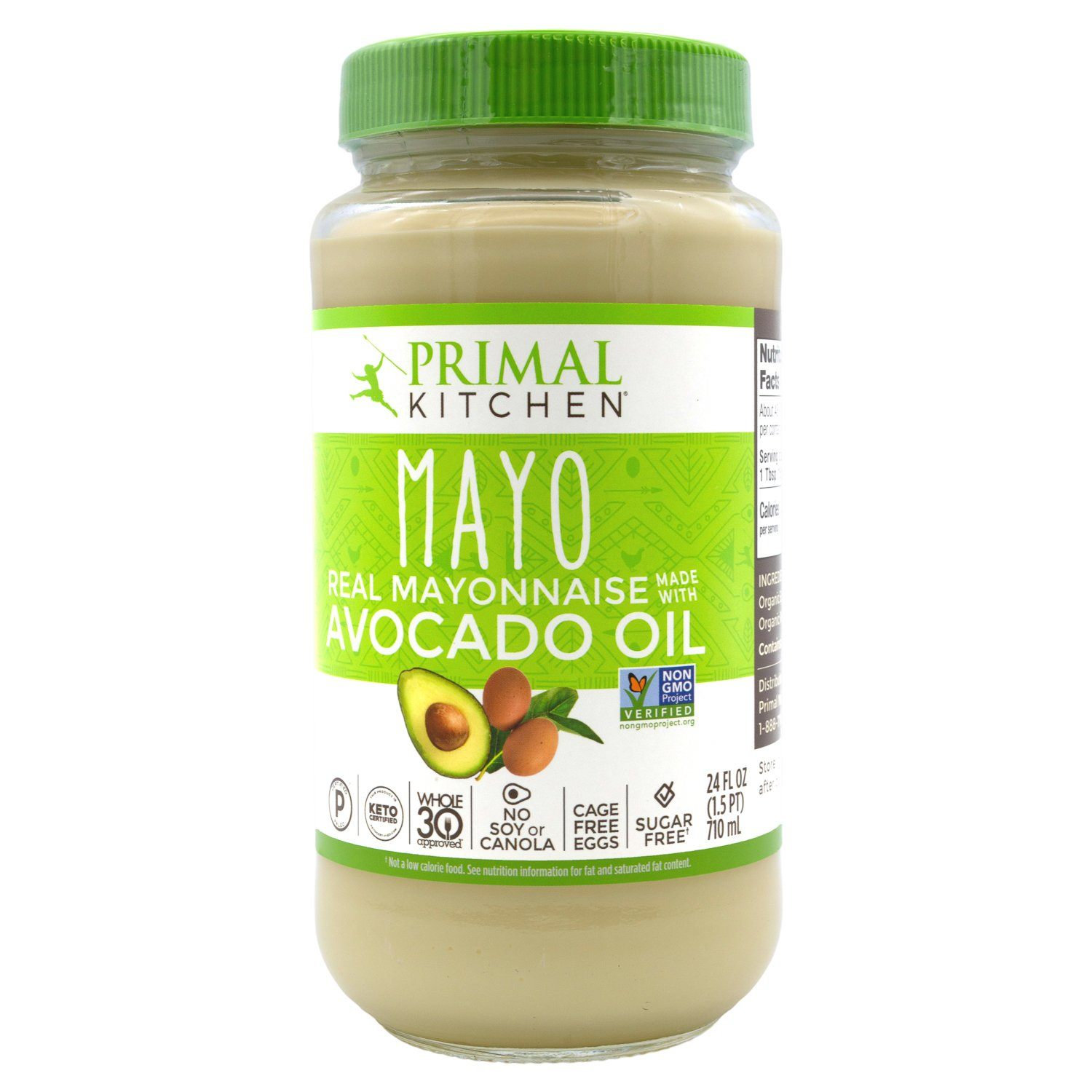 Primal Kitchen Mayo with Avocado Oil Primal Kitchen 24 Fluid Ounce