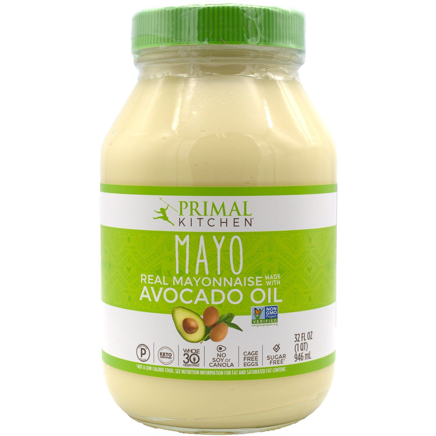 Primal Kitchen Mayo with Avocado Oil Primal Kitchen 32 Fluid Ounce