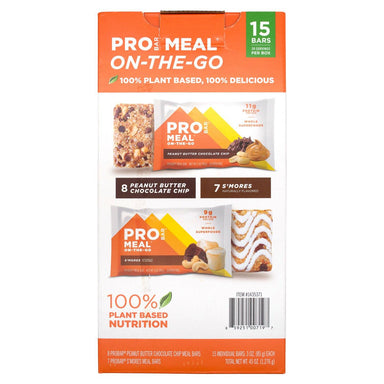 PROBAR MEAL Bars PROBAR Variety 3 Oz-15 Count