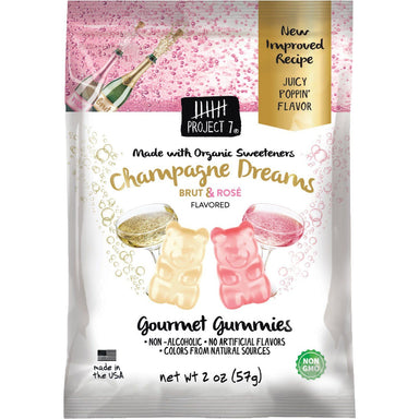 Project 7 Gourmet Gummies Project 7 Champagne Dreams 2 Ounce