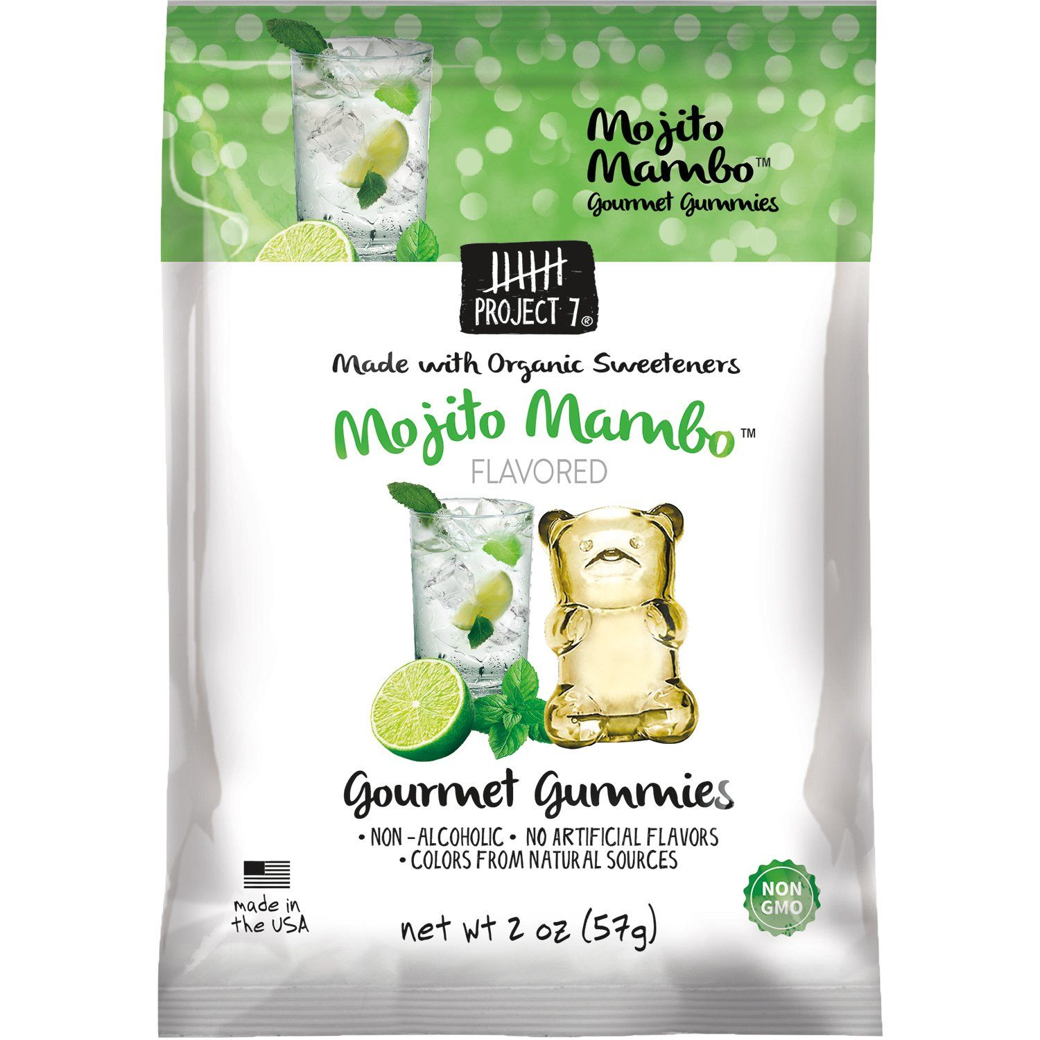 Project 7 Gourmet Gummies Project 7 Mojito Mambo 2 Ounce