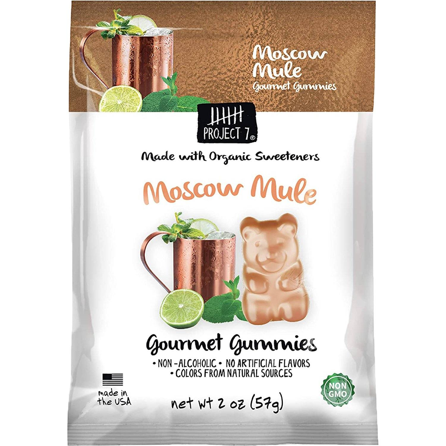 Project 7 Gourmet Gummies Project 7 Moscow Mule 2 Ounce