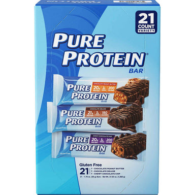 Pure Protein Bars Pure Protein Variety 1.76 Oz-21 Count