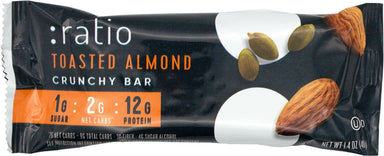 Ratio Crunchy Bar Ratio Toasted Almond 1.4 Ounce