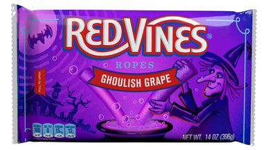 Red Vines Ropes Red Vines Ghoulish Grape 14 Ounce
