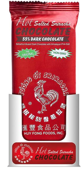 Rock Da Rooster Chocolate Bars Meltable Rock Da Rooster 55% Dark Chocolate 2.5 Ounce