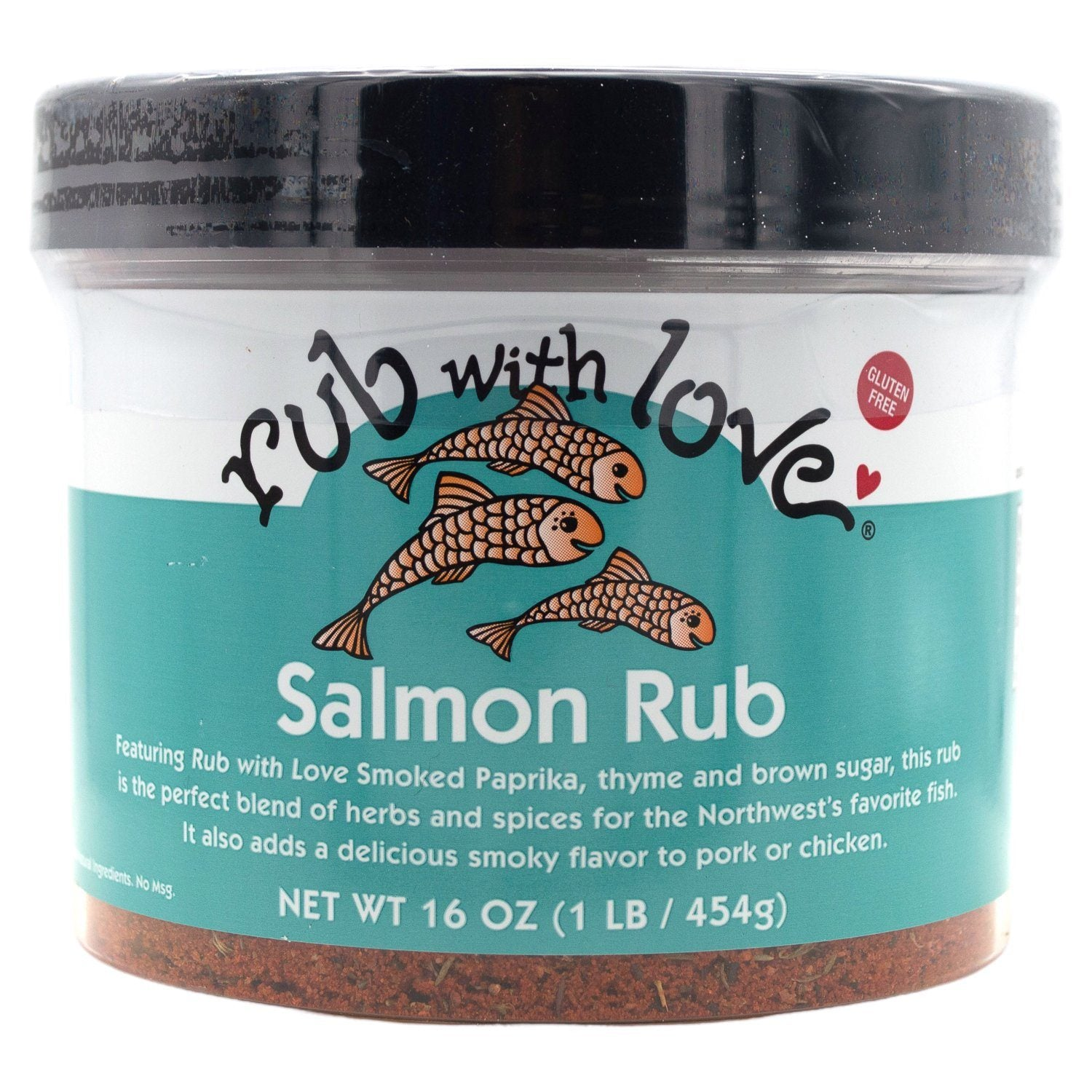 Rub with Love Rub Rub with Love Salmon 16 Ounce
