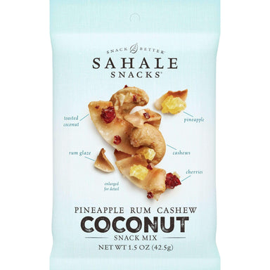 Sahale Snacks Snack Mixes Sahale Snacks Pineapple Rum Cashew Coconut 1.5 Ounce