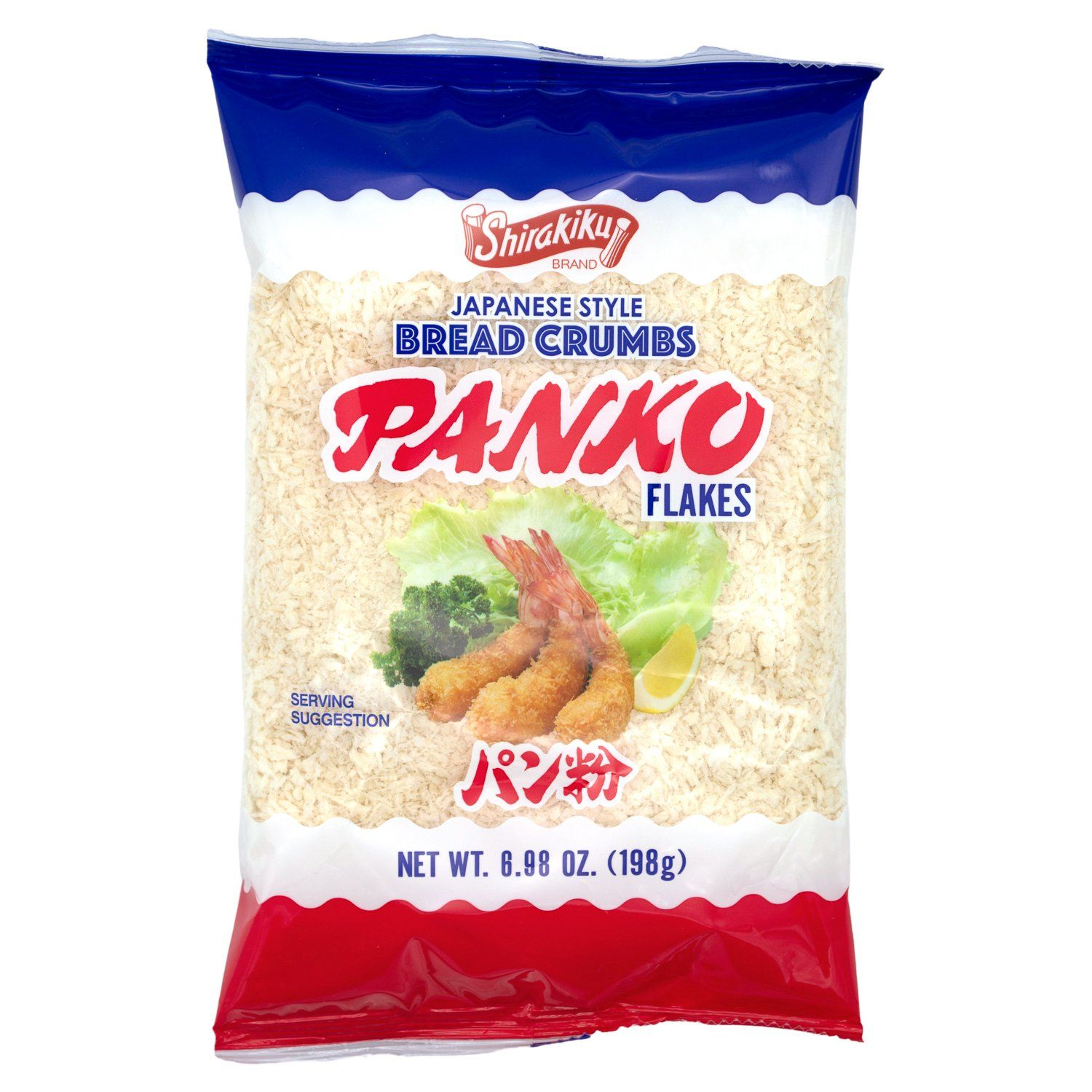 Shirakiku Japanese Bread Crumbs, Panko Flakes Shirakiku Original 6.98 Ounce