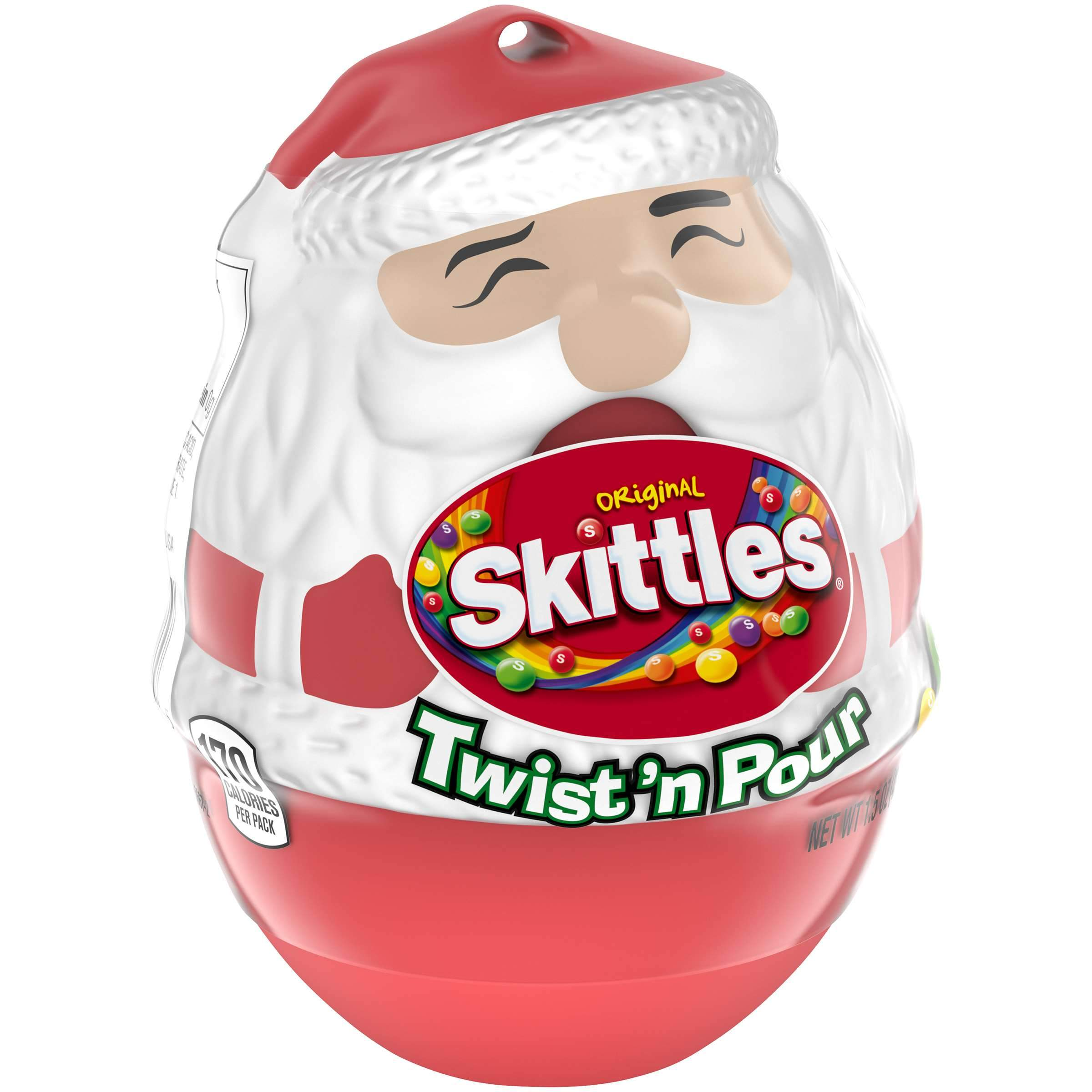 Skittle Holiday Skittles Twist & Pour - Original 1.5 Ounce