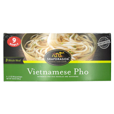 Snapdragon Vietnamese Pho Bowl Snapdragon Original 2.1 Ounce-9 Count