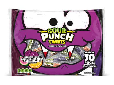 Sour Punch Candies Sour Punch Twists 10 Ounce