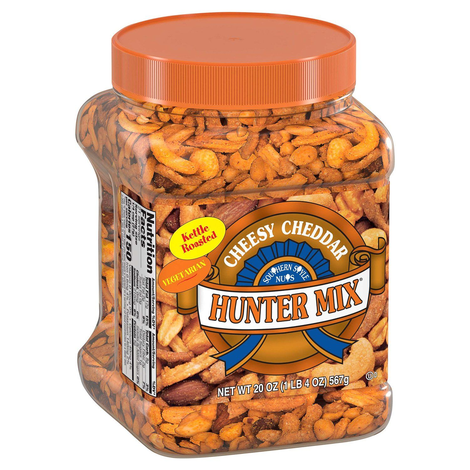 Southern Style Nuts Hunter Mix Southern Style Nuts Cheesy Cheddar 20 Ounce