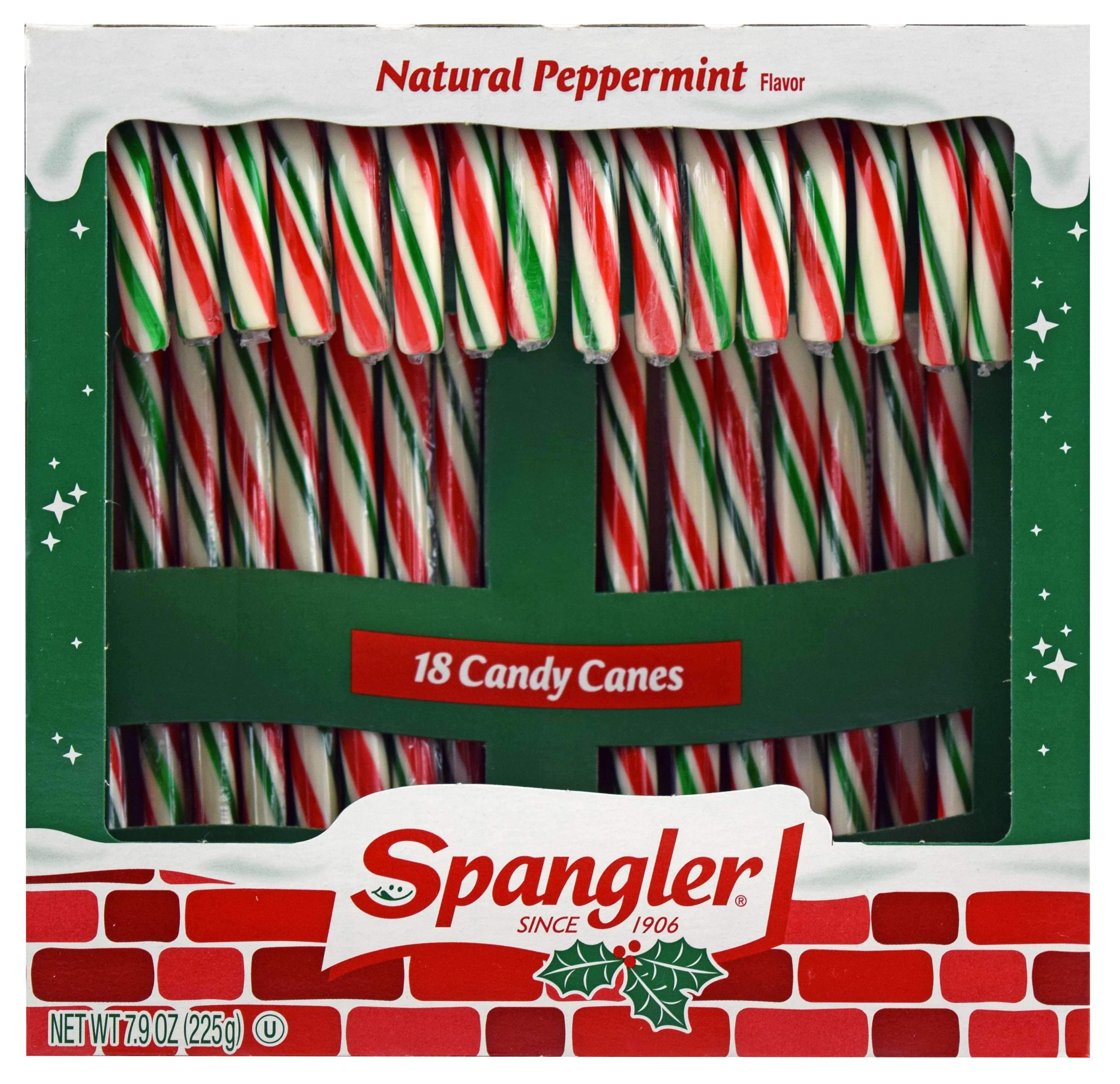 Spangler Candy Canes Spangler Red, Green & White 18 Ct-7.9 Ounce