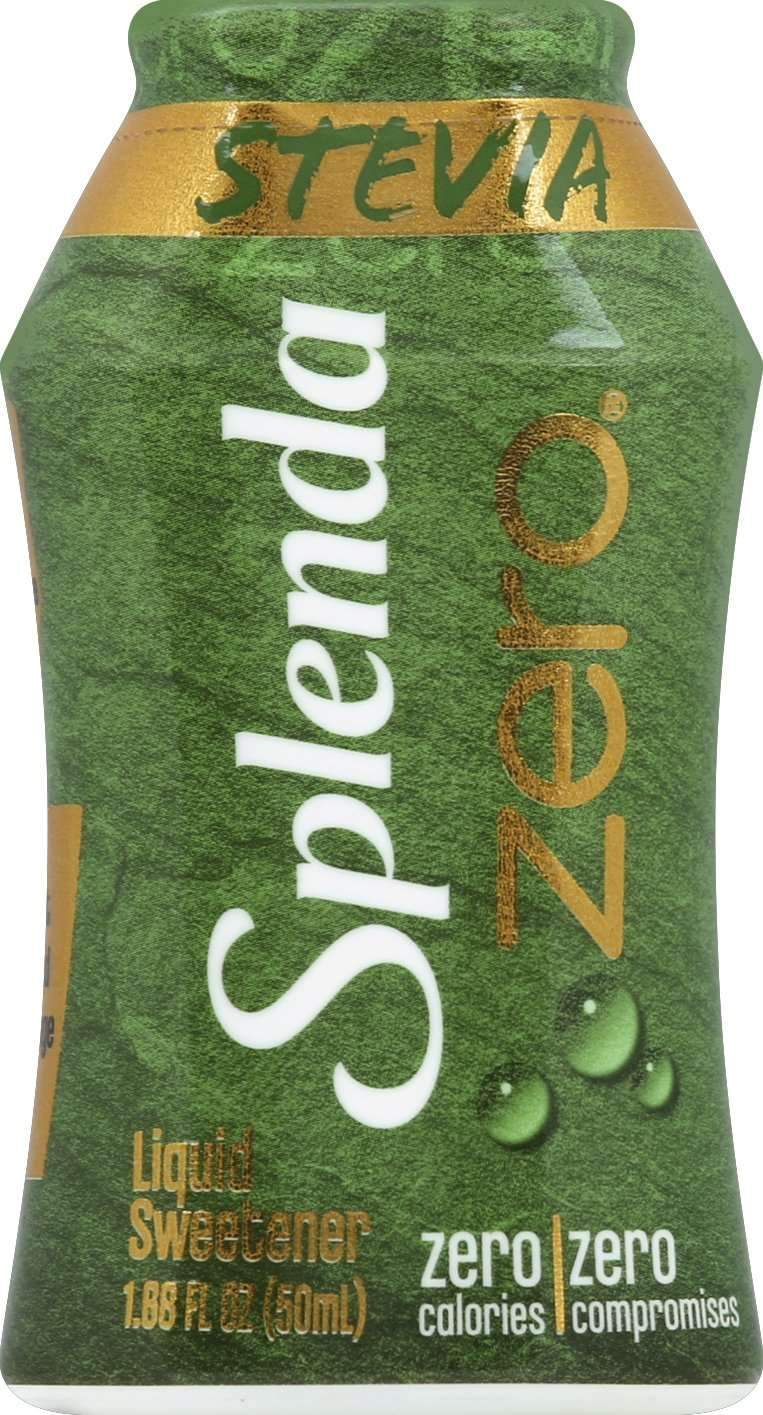Splenda Liquid Sweetener Splenda Splenda Zero Stevia 1.68 Fluid Ounce