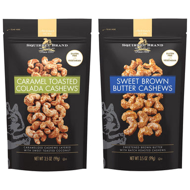 Squirrel Brand Artisan Cashews Squirrel Brand