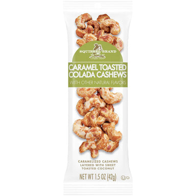 Squirrel Brand Caramel Toasted Colada Cashews Squirrel Brand Caramel Toasted Colada 1.5 Ounce