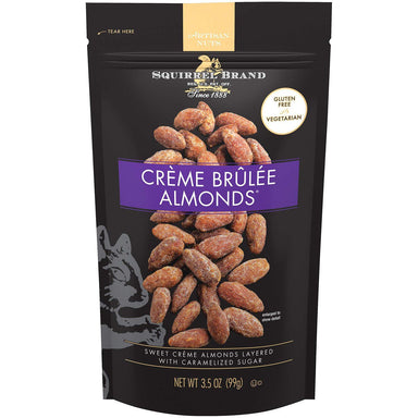 Squirrel Brand Crème Brûlée Almonds Squirrel Brand Original 3.5 Ounce