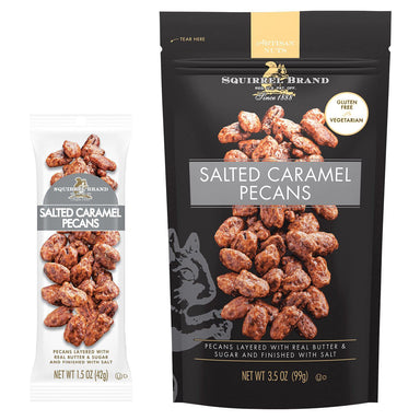 Squirrel Brand Salted Caramel Pecans Squirrel Brand