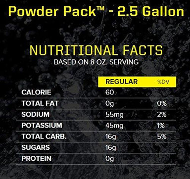Sqwincher PowderPack Electrolyte Replenishment Snackathon Foods