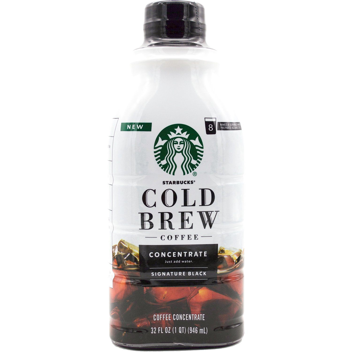 Starbucks Cold Brew Concentrate Starbucks Signature Black 32 Fluid Ounce