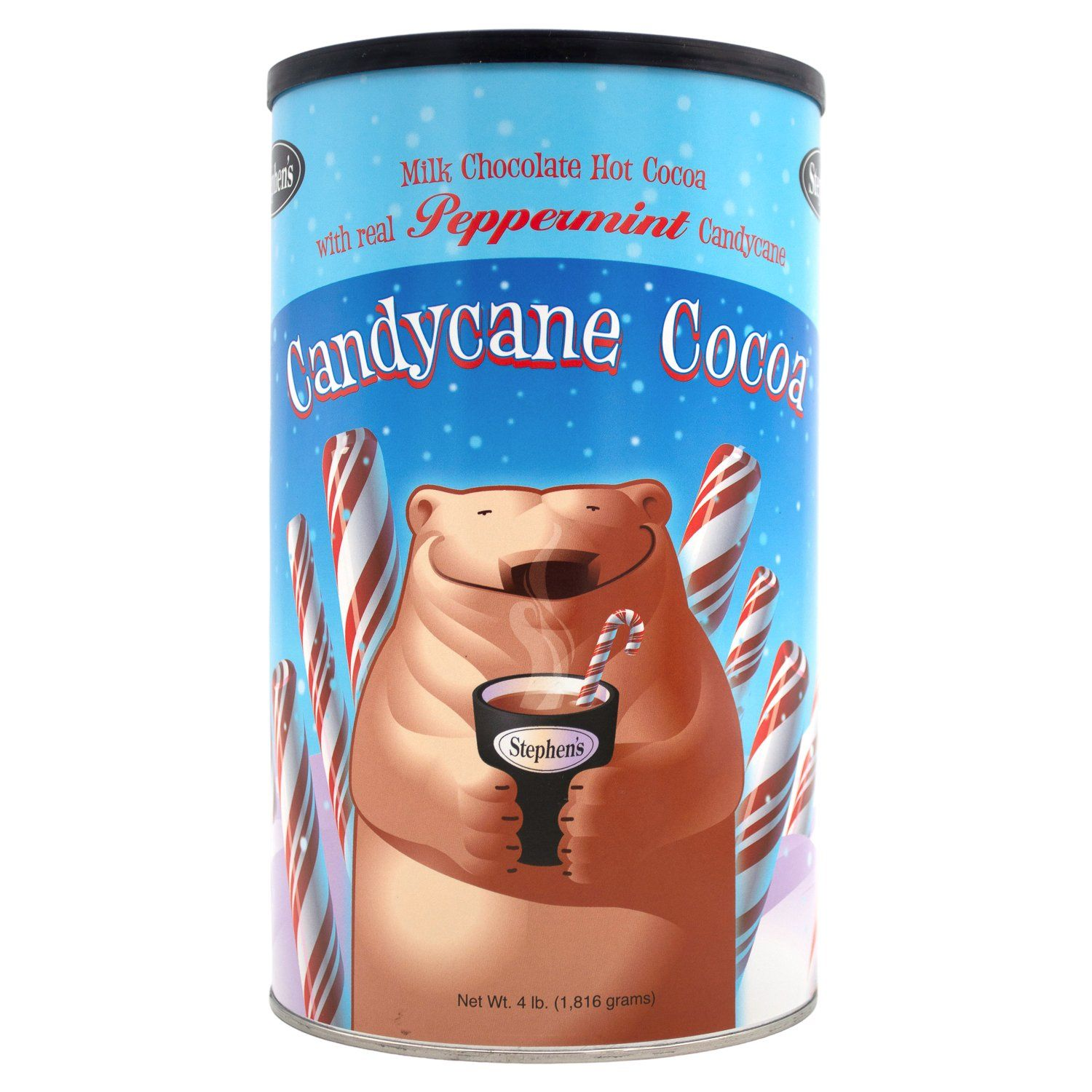 Stephen's Hot Cocoa Stephen's Milk Chocolate Candycane 4 Pound