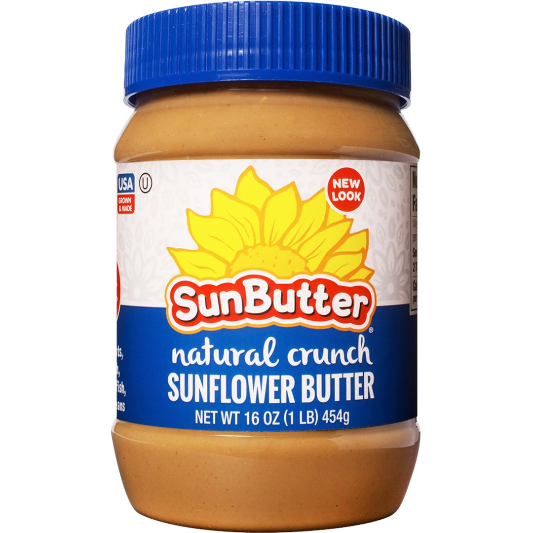 SunButter Sunflower Butter SunButter Natural Crunch 16 Ounce