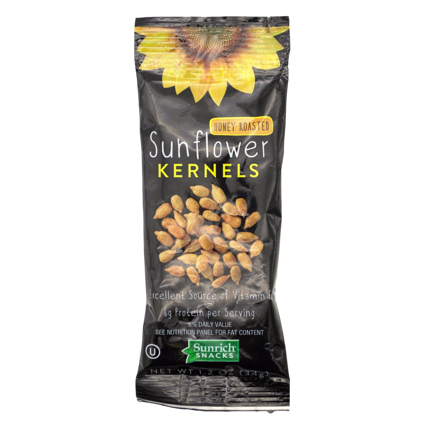 Sunrich Sunflower Kernel Sunrich Naturals Honey Roasted 1.2 Ounce