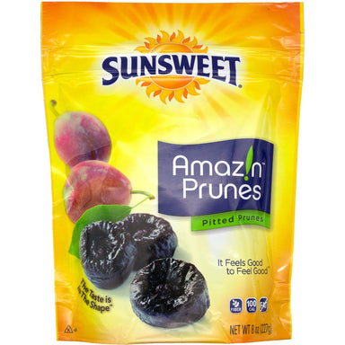 Sunsweet Amaz!n Prune Sunsweet Pitted 8 Ounce Pouch