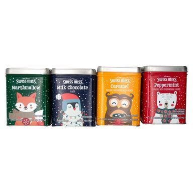 Swiss Miss Sensible Sweets Hot Cocoa Swiss Miss Holiday Gift Tin 1.38 Oz-20 Count