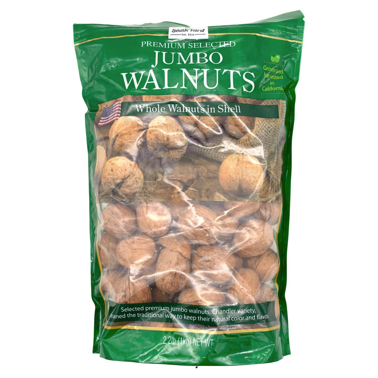 The Snak Yard Whole Walnuts in Shell The Snak Yard