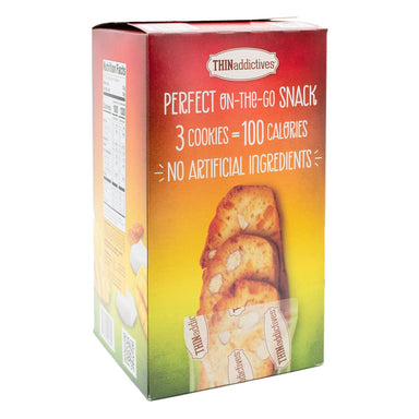 THINaddictives Almond Thin Cookies Nonni's Mango Coconut 75 Cookies