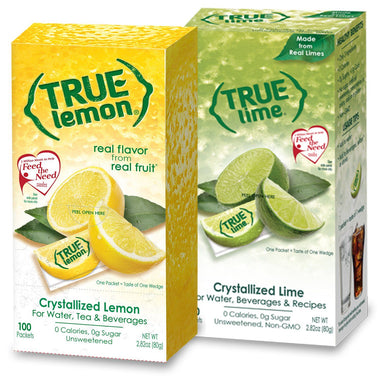 True Citrus Zero Calorie Unsweetened Water Enhancers True Citrus