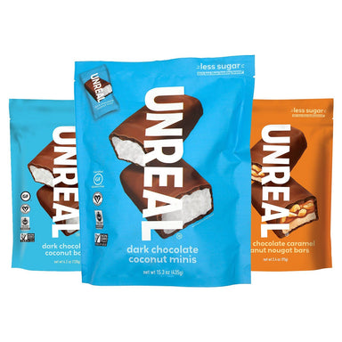 UNREAL Chocolate Bars Meltable UNREAL